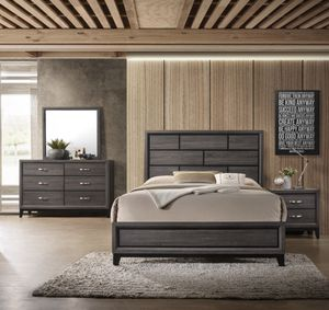 4pc bedroom set. Queen size. Brand new factory box for Sale in Scottsdale, AZ
