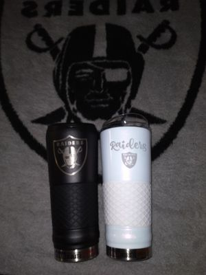 Authentic Raider 24oz. Heat&Cold Resistant Cupp's for Sale in Norwalk, CA