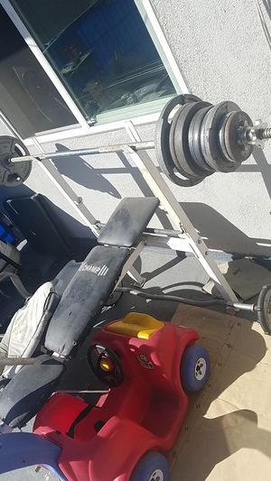 Bench and weights for Sale in Anaheim, CA