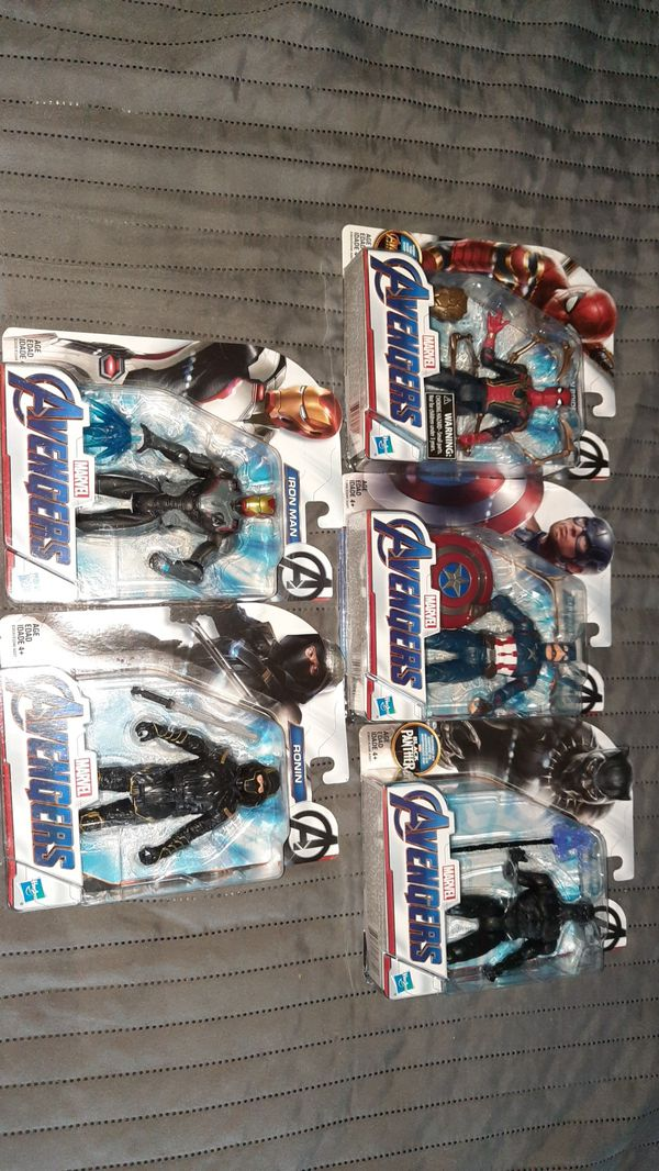 Marvel avengers 6inch action figures