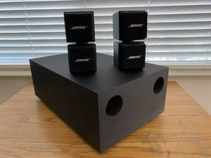 Bose Acoustimass AM-5 2.1 speaker system for Sale in Manteca, CA
