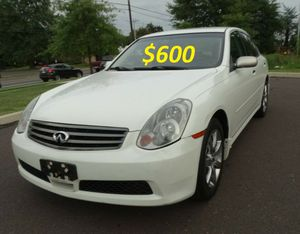 🎁💲6OO I'am selling URGENT!Super2005 Infiniti G35 🍁Runs and drives great.🎁 for Sale in Washington, DC