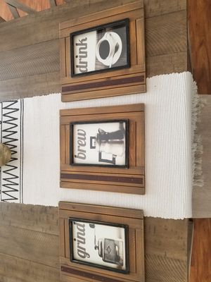WALL DECOR FOR KITCHEN OR COFFEE STATION for Sale in Columbia, MD