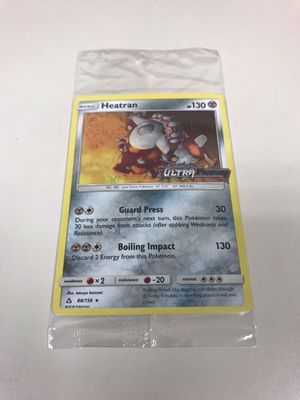 Sealed Heatran GameStop Exclusive Promo for Sale in Cleveland, OH