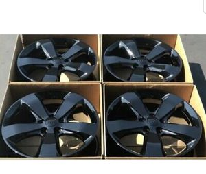 "20"" JEEP GRAND CHEROKEE 2014-2019 OEM 20"" Factory Original Wheels Rims Black for Sale in Long Beach, CA"