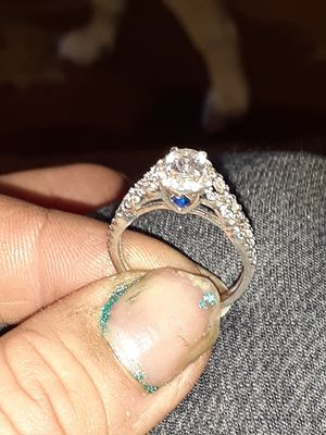 Sterling silver 925 Diamond ring for Sale in Vancouver, WA