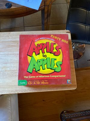 Apples to apples board game for Sale in Tijuana, MX