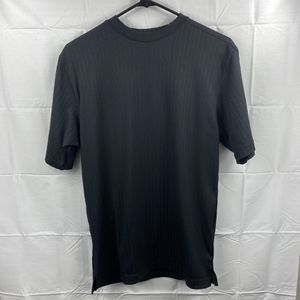 Elliott Short Sleeve Mens Black Shirt Strip Sz. Small Free Shipping for Sale in Peoria, IL