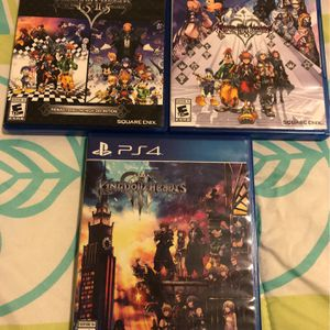 All Kingdom Hearts Games PS4 for Sale in Rosenberg, TX