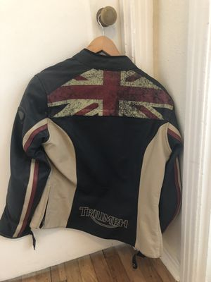 Triumph Women's Leather Motorcycle Jacket for Sale in Austin, TX