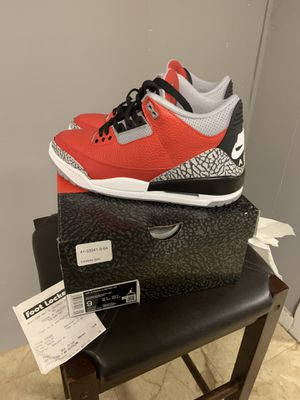 AIR JORDAN RETRO 3 SE SIZE 9 WITH BOX & RECIPET PRICE IS FIRM for Sale in Piscataway, NJ
