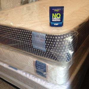 🛏 MATTRESS SALE BRAND NEW TWIN $90 FULL $159 QUEEN STARTING AT $190 AVAILABLE FINANCE NO CREDIT NEEDED IN D'FURNITURE STORE WE DELIVERY 📦 🚚 for Sale in Providence, RI