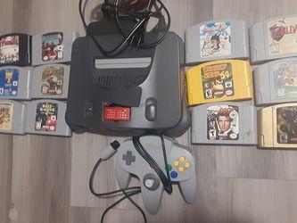 Nintendo 64 Bundle for Sale in Aurora,  CO