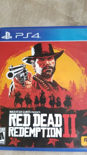 Red dead redemption 2 for Sale in Charlotte, NC