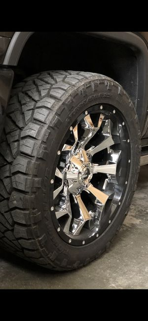285/50r20 Chevy Silverado GMC Sierra Ford F-150 wheels and tires for Sale in Helena, MT