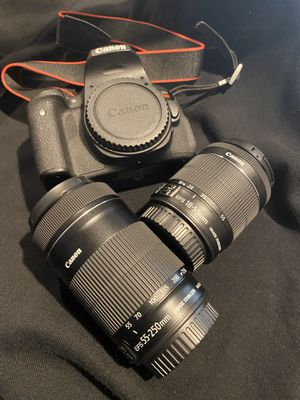 Canon EOS Rebel T6i for Sale in Long Beach, CA