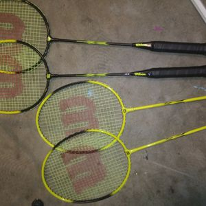 4 Wilson Rackets for Sale in Fresno, CA