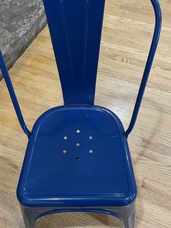 Blue Desk Chair Industrial Style - Silla De Escritorio for Sale in South Gate,  CA