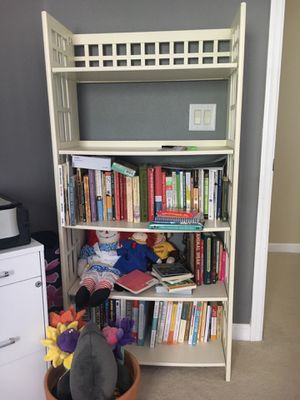 Folding Bookcase from PierOne: Height 59x Width 28 for Sale in Tampa, FL