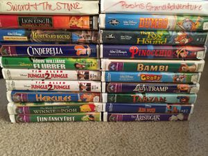 Disney VHS tapes for Sale in Mount Ulla, NC