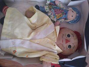 Antique Raggedy Ann doll. Year?? for Sale in Prattville, AL