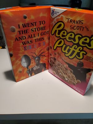 Travis Scott Reese's puff Cereal for Sale in Haines City, FL