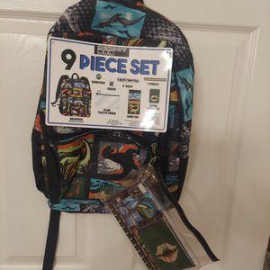 Brand New Reboot 9-Piece Backpack Set for Sale in Edmonds, WA