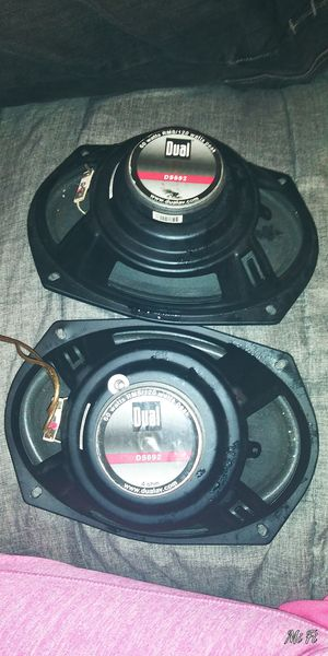 6x9s DUAL DS692 TRUCK CAR AUDIO SYSTEM SPEAKERS PAIR for Sale in Tallmadge, OH