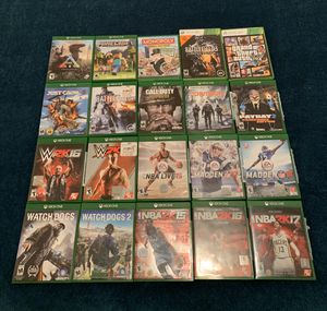 Xbox One, 20 games and 2 Remotes for Sale in Eagle Mountain, UT