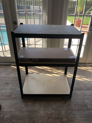 IKEA Bror Shelving Unit with Cabinet for Sale in Boca Raton, FL