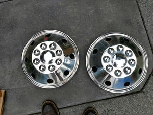 Stainless Steel Motorhome wheel covers for Sale in Ravensdale, WA