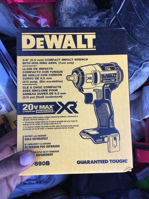Compact impact wrench for Sale in Montclair, VA