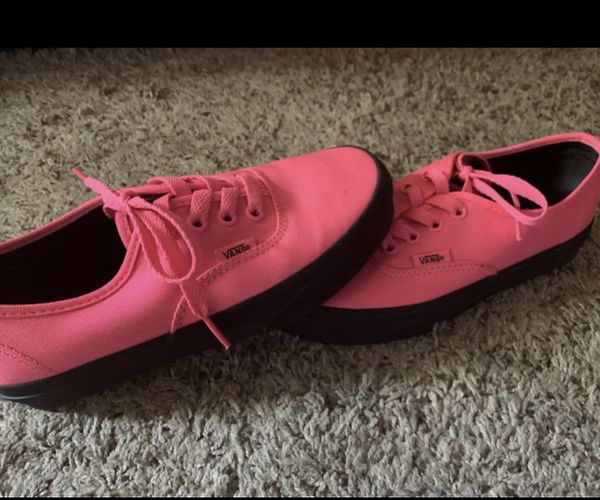 Hot Pink Vans Size 4