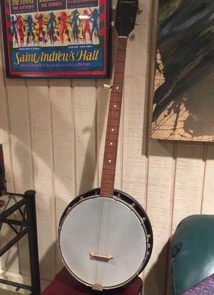 Silver tone bango for Sale in Detroit, MI