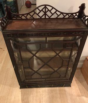 Wooden cabinet - 3 Shelf for Sale in Alexandria, VA