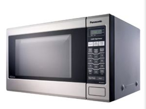 Family-Size 1.2 cu. ft. Stainless Microwave Oven with Inverter Technology for Sale in Santee, CA