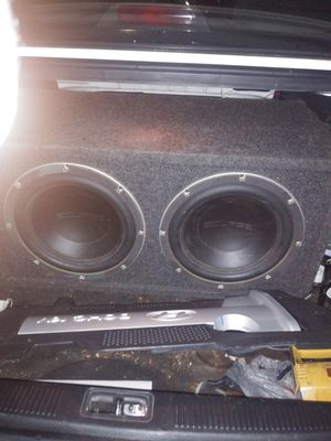 Eclipse audio old skool 2 12s for Sale in Lowell, MA