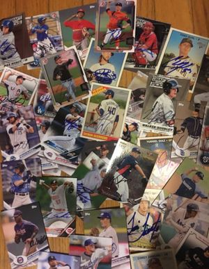 Huge Collection of Autographed Sports Cards for Sale in Falls Church, VA