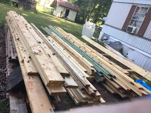 Wood any size or style including OSB. Prices are in the pictures and all wood brand new!! for Sale in Cumming, GA