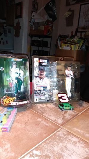 Dale Earnhardt and Dale Earnhardt Jr action figures brand new !!! for Sale in Pottstown, PA