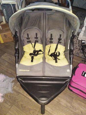 Babytrends double stroller for Sale in Lawrenceville, GA