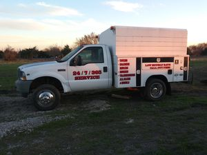 2002 ford f450 service truck for Sale in Red Oak, TX
