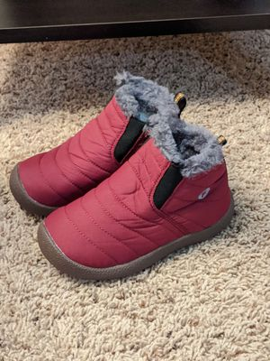 New toddler boys/girls winter/snow boots size 11/12 for Sale in San Bernardino, CA