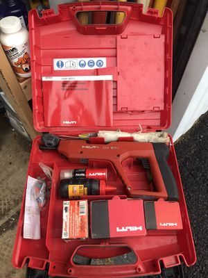 Hilti DX E72 Powder Actuated Nailer Nail Gun w/Case for Sale in Annandale, VA