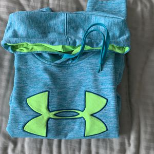 Under Armour big logo hoodie - women's for Sale in Sterling, VA