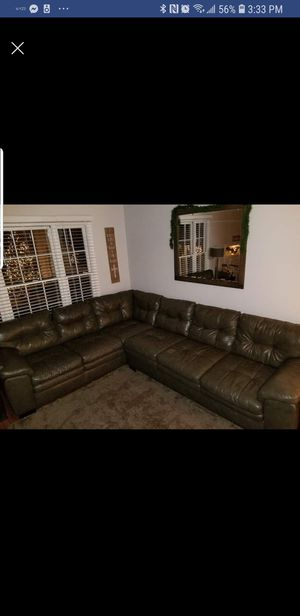 Magnum Grey Sectional Sofa for Sale in Gaithersburg, MD