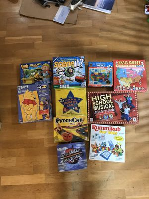 Lot of Children's Board Games and Puzzles for Sale in San Jose, CA