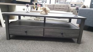 Dutto Coffee Table, Distressed Grey, SKU 151464CT for Sale in Garden Grove, CA