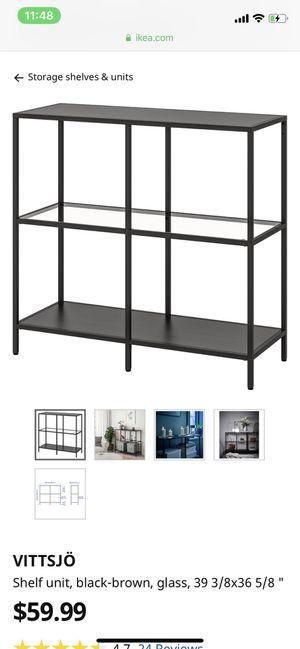 IKEA vittsjo storage shelf unit for Sale in Fort Lauderdale, FL