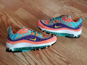Nike Air Max 98 size 5.5y Woman's 7 for Sale in Mint Hill, NC